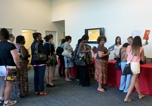 Women's Opportunity Conference Check-in